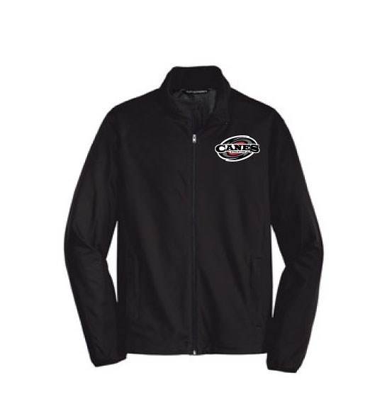 Men's Active Soft Shell Jacket - Black or Gray (Embroidered Logo)