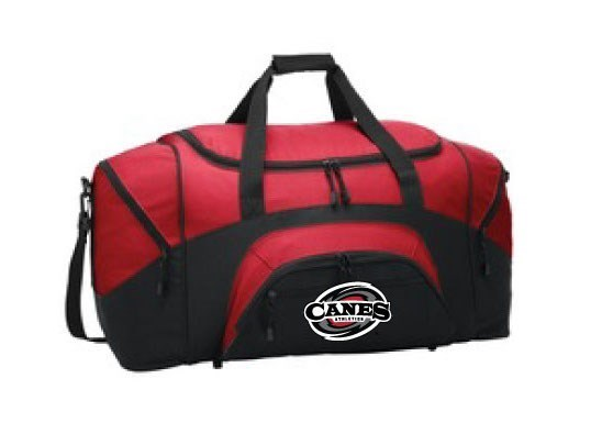 Sport Duffel - Red or Black (Embroidered Logo)